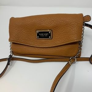Caramel Cross Body / Convertible to Clutch